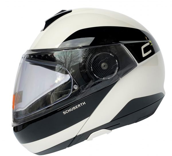Schuberth C4 Pro Fragment White Klapphelm