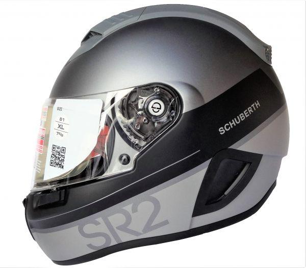 Schuberth SR2 Formular Grey Integralhelm