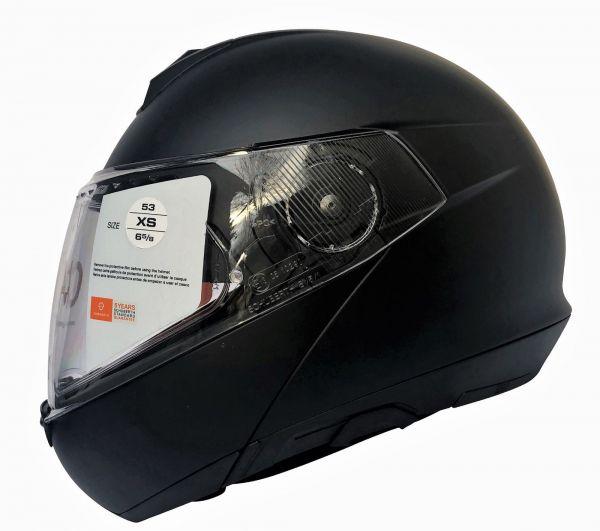 Schuberth C4 Matt Black Klapphelm Motorradhelm Schwarz Helmet Gr. XS bis 3XL