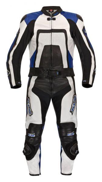"""Neue hochwertige 2-teilige Lederkombi von XLS Modell """"Blue Carbon"""""""