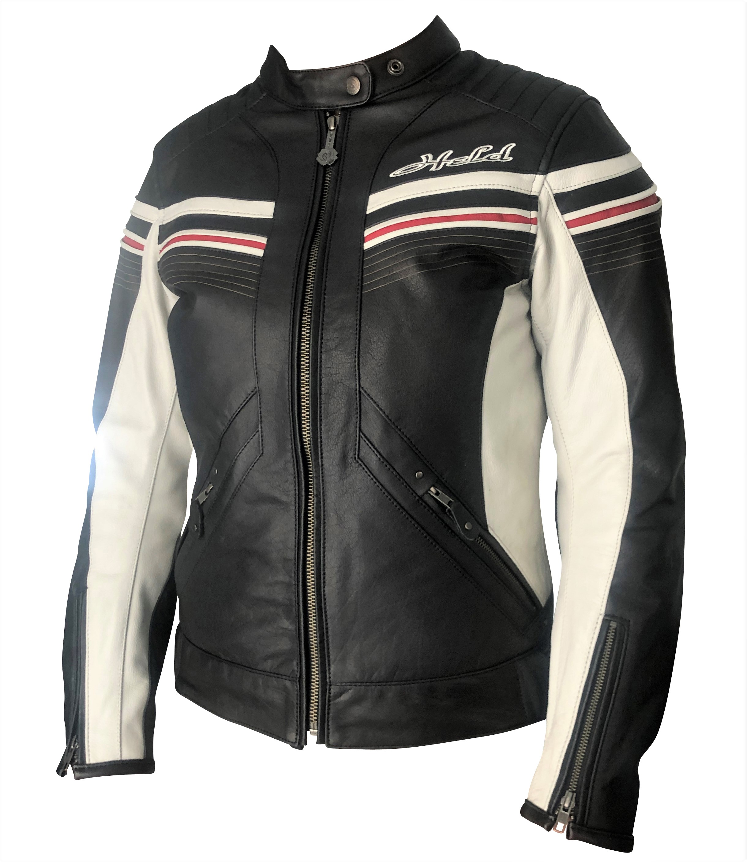 held street ii damen lederjacke motorradjacke gr 36 34. Black Bedroom Furniture Sets. Home Design Ideas
